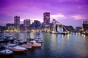 Baltimore, a maior cidade de Maryland