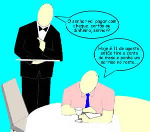 Tire a conta da mesa.... Porque hoje é Dia do Pendura! - Brasil Escola