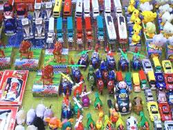 A China é o primeiro lugar em exportação de brinquedos