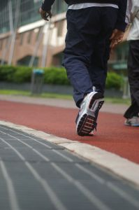 Caminhada: ato de andar sem interrupções