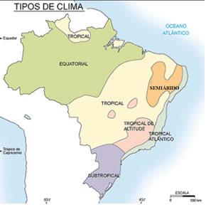 Regiões climáticas do Brasil