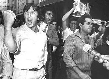 Collor e seu estilo enérgico durante as eleições de 1989