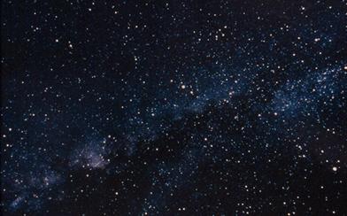 Imagem de uma constelação