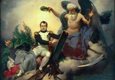 """""""Napoleão, o Legislador"""": a representação da supremacia política de Bonaparte. Obra de Jean-Baptiste Mauzaisse"""