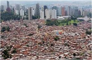 Malha urbana: resultado da união entre duas ou mais cidades/municípios