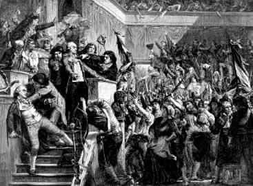 A Convenção: o auge da agitação política na França