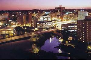 Sioux Falls, a maior cidade da Dakota do Sul