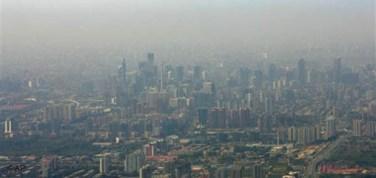 Pequim (China): Poluição superior aos máximos aconselháveis.