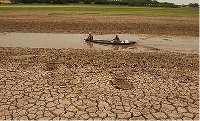Área afetada pela desertificação