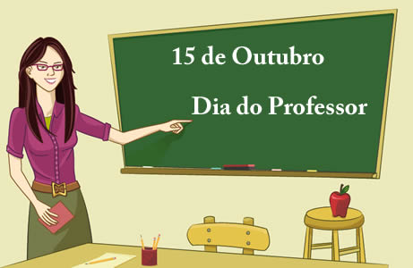 Dia do Professor 15 de Outubro