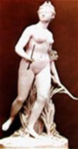 Diana é a representação romana da deusa grega Ártemis