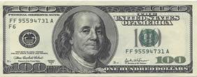Nota de US$ 100
