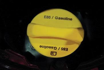 E85 – combustível formado pela mistura de 85% de etanol e 15% de gasolina