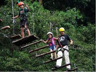 Arvorismo, modalidade de ecoturismo
