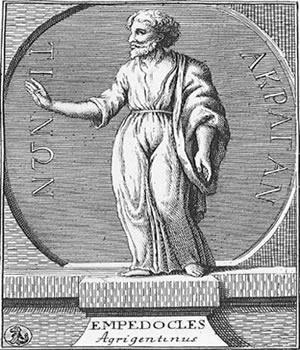 Empédocles, um homem que certamente possuía muitas virtudes