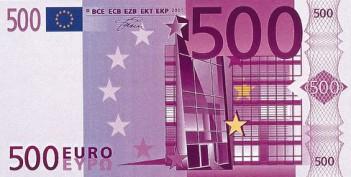 Cédula de 500 euros