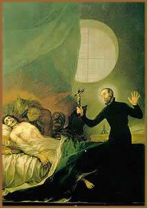 São vários os relatos de exorcismo ao longo da história do homem