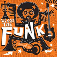 O funk surgiu através da música negra norte-americana