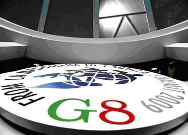 A reunião do G8 em L'Aquila será marcada por debates de grande importância.