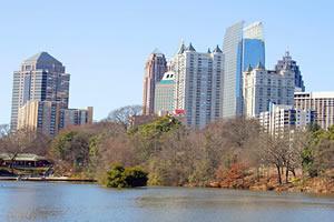 Atlanta, a capital da Georgia