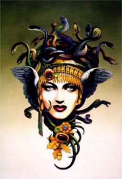As gréias e as górgonas eram monstros da mitologia grega