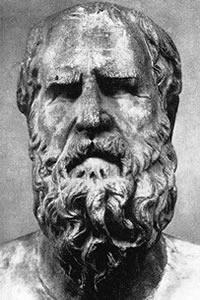 Para Heráclito tudo o que existe está em permanente mudança ou transformação