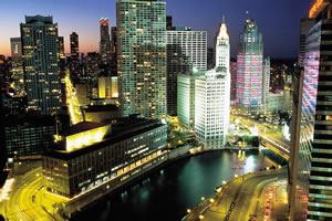 Chicago é um dos mais importantes pólos financeiros do mundo
