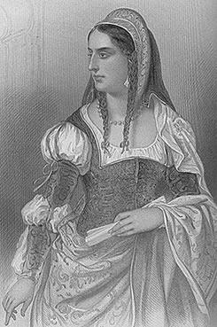 A soberana rainha de Castela