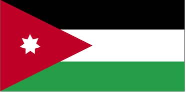 Bandeira da Jordânia