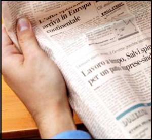 As notícias de um jornal são resumos de acontecimentos ou assuntos diversos