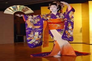 Dança realizada no kabuki