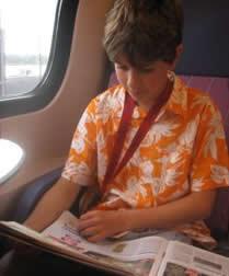 Leitura nas férias