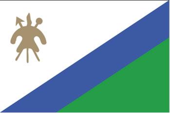 Bandeira de Lesoto