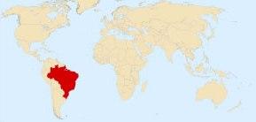 A localização do Brasil no mundo