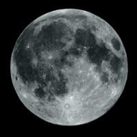 O tamanho da lua é 80 vezes menor ao tamanho do planeta Terra