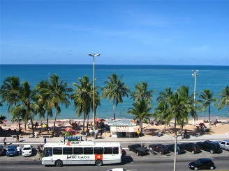 Uma linda área de lazer na capital de Alagoas, Maceió