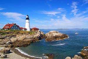 Portland, a maior cidade de Maine