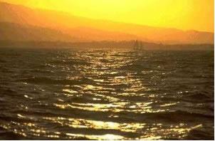 As áreas costeiras sofrem os efeitos da maritimidade