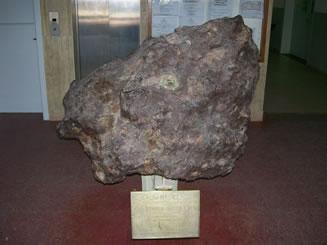 Meteorito encontrado na Argentina