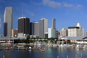 Miami, uma das principais cidades da Flórida