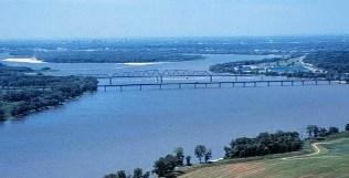 Rio Mississipi nos Estados Unidos