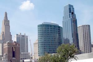 Kansas City, a maior cidade de Missouri