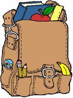 O excesso de peso colocado dentro das mochilas pode causar problemas na coluna