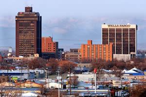 Billings, a maior cidade do Estado de Montana