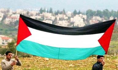 Os palestinos reivindicam a criação de um Estado próprio