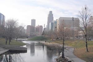 Omaha, a maior cidade de Nebraska