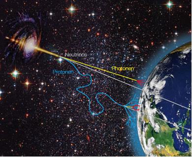Bilhões de neutrinos atravessam a terra a cada segundo
