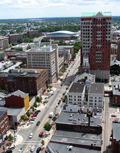 Manchester, a maior cidade de Nova Hampshire