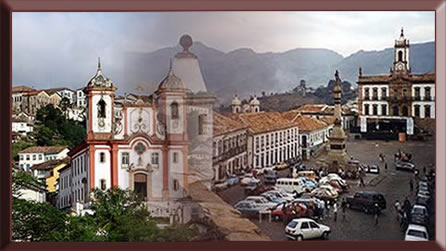 Igrejas que compõem o patrimônio histórico da cidade