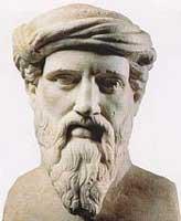 Estátua de Pitagóras